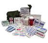 40-piece mil-spec IFAK with bandaids, first aid ointment, antiseptics, tape, eye pads, and more.