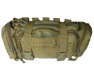 Coyote Brown Modular Rapid Response Bag.