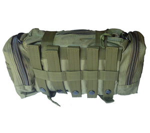 MOLLE Straps on reverse of Rapid Response Bag
