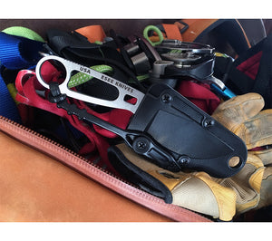 ESEE's Imlay knife is designed for use by search and rescue personnel for water rescues and rope work.