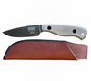 ESEE JG3 James Gibson Bushcraft Knife with Leather Pouch Sheath