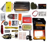Large Tin Survival Kit Contents
