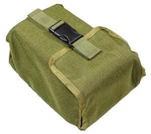 The entire kit fits neatly into this compact Olive Drab MOLLE Pouch.