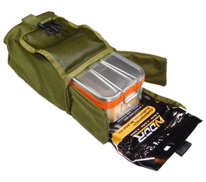 ESEE Knives' Mess Tin Survival Kit in Olive Drab MOLLE Pouch