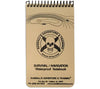ESEE Knives Survival/Navigation Waterproof Notebook, designed by the Randall's Adventure & Training instructors.