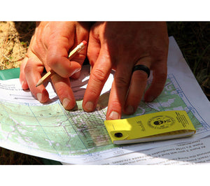 Designed for use as a map tool for use with topographical grid maps for land nav exercises.