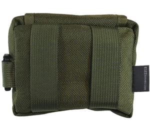 ESEE's Pocket Survival Kit has two loops on the back side for belt carry.