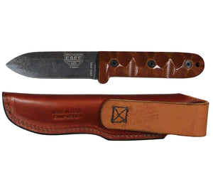 The American made PR4 knife and sheath.