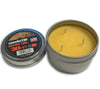 Exotac candleTINs are made in the USA from 100% Beeswax.