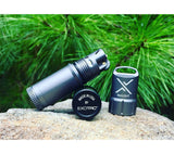 Exotac titanLIGHT refillable lighters are made in the USA.