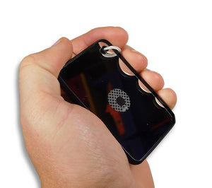 The Mark 3 Type I Mirror fits easily in the palm of your hand, and makes an excellent heliograph.