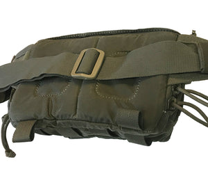 The padded back side of the Belt Pack from Hill People Gear.