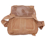 Using TexWax Field Tan waxed canvas helps weatherproof the V1 Kit Bag from HPG.