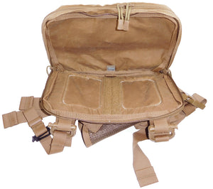Spacious internal compartments make HPG's Kit Bag an excellent chest pack.