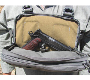 Kit Bags from Hill People Gear were originally designed for pistol concealed carry.