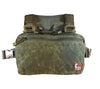 The V1 Original Pattern Waxed Canvas Kit Bag from Hill People Gear in Field Olive.