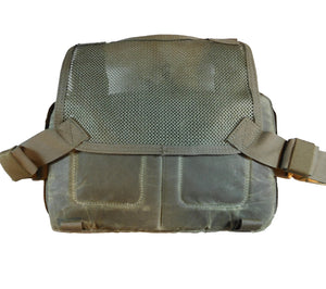 Field Olive waxed canvas Kit Bag from HPG.