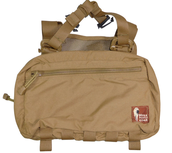 Version 2 Kit Bag from Hill People Gear, shown here in Coyote Brown.
