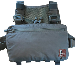 V2 Kit Bag, Original Pattern from Hill People Gear, shown here in Manatee/Wolf Gray nylon cordura.