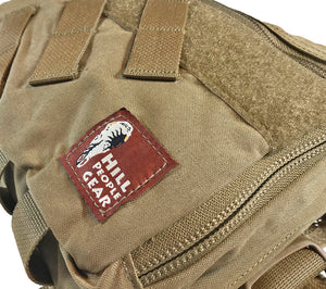 HPG's Coyote Brown V3 Kit Bag combines features from the version 2 KB with new SAR components.