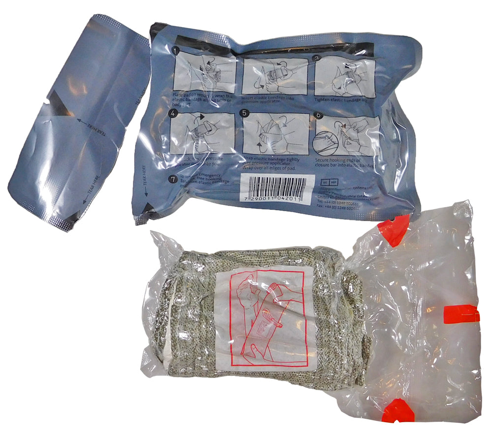 To use, simply remove the sterile inner package from the Israeli Bandage's outer pouch.