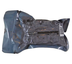 The T3 Israeli Bandage comes vacuum sealed in two pouches to ensure sterility.