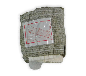 Each T3 Israeli Emergency Bandage and wound dressing has printed instructions sewn onto the bandage itself.