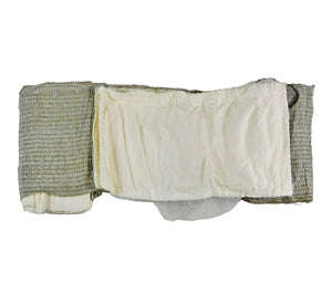 The T3 Israeli Bandage has an integral gauze wound dressing.