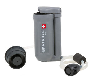The Katadyn Hiker Water Microfilter system is effective against giardia and cryptosporidium.
