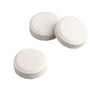 Individual Micropur MP1 tablets from Katadayn each treat 1 liter or quart of drinking water.