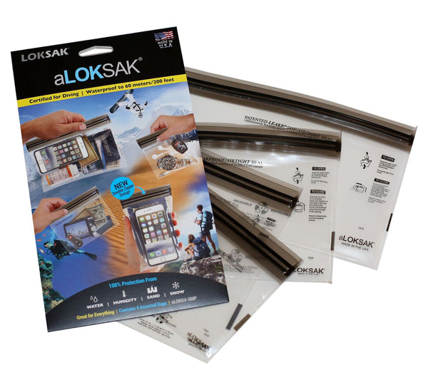 4-pack of aLOKSAK Bags