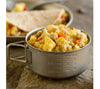 The Breakfast Skillet from Mountain House: this easy prep freeze dried meal is ready in less than 10 minutes. Just add water.
