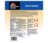 Nutritional Info for Mountain House Breakfast Skillet.