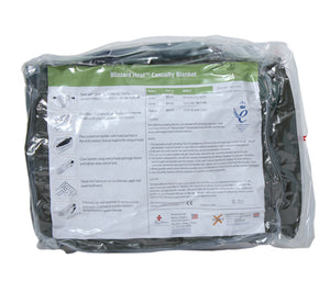The BH-01 Green Blizzard Heat Casualty Blanket from PerSys Medical.