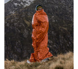PerSys Medical's Blizzard Survival Blanket is also available in Orange: BPS-10 NSN: 7210-99-958-4316