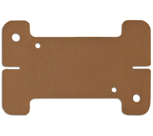 Coyote Brown Mini-Spool Card from Sagewood Gear, a compact way to EDC cordage.