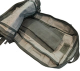 Inside the SKRAM Go Bag is a sleeve to hold a hydration reservoir.
