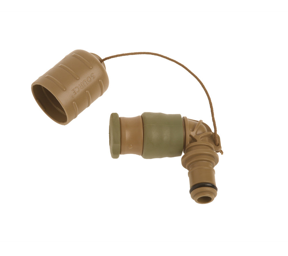 Source's patented Storm Drinking Valve is included with all Kangaroo Collapsible Canteens.