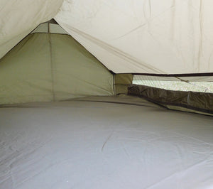 French Army F1 tents have openable side vents.