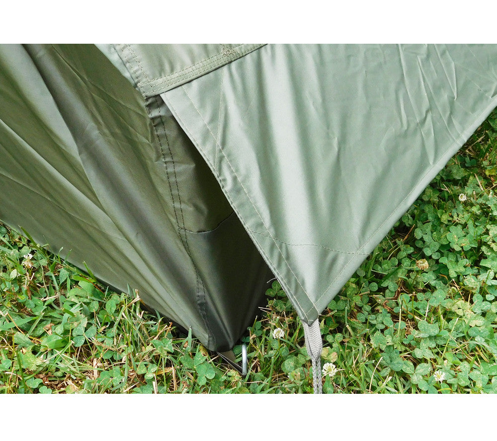 Integral Rain Fly flaps on the French Army F1 Tent protects the side vents from rain  sc 1 st  5col Survival Supply & F1 Commando Pup Tent | French Army Military Surplus | 5col Survival