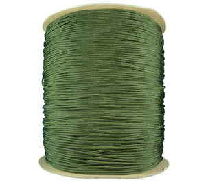 Camo Green Type III Paracord on 3000 ft spool