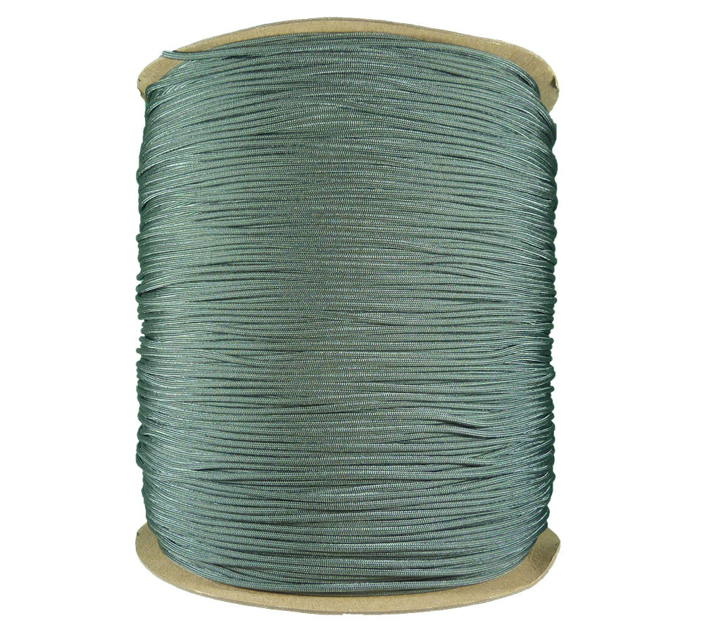 Foliage Green Type 3 Parachute Cord, 3000 ft spool
