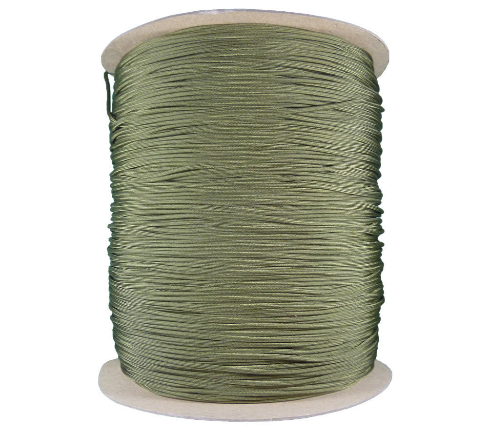 Olive Drab Paracord, MIL-C-5040h Type 4, 3000 ft spool