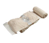 The OLAES Modular Bandage, 4 in., has an integral pressure bar for treating traumatic injuries.