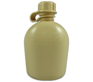 Desert Storm Tan Canteen as used by US military.