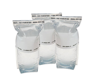 Whirl-Pak water storage bags can be used with chlorine dioxide water treatment tablets to effectively treat drinking water.