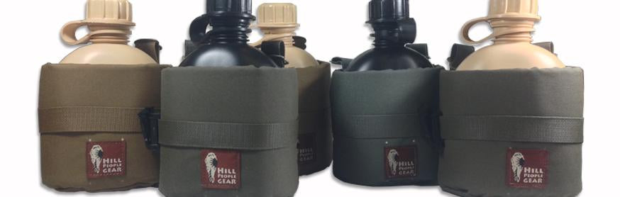 Hill People Gear 1 Qt Bottle Holsters with FREE Canteens