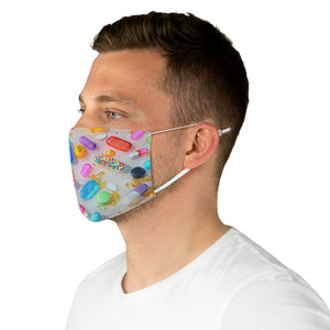 Pastel Fabric Face Mask