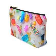"Load image into Gallery viewer, ""Everything's Fine"" Accessory Pouch w T-bottom"