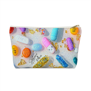 """Everything's Fine"" Accessory Pouch w T-bottom"